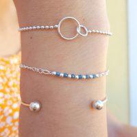 composition bracelet argent